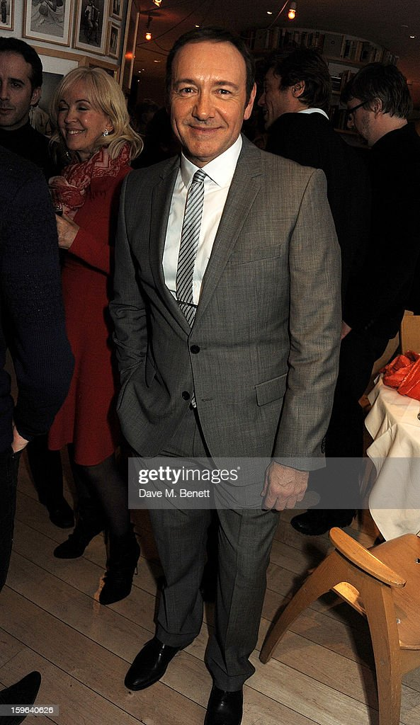 Kevin Spacey attends an after party celebrating the Red Carpet Premiere of the Netflix original series 'House of Cards' at Asia de Cuba, St Martins Lane Hotel, on January 17, 2013 in London, England.