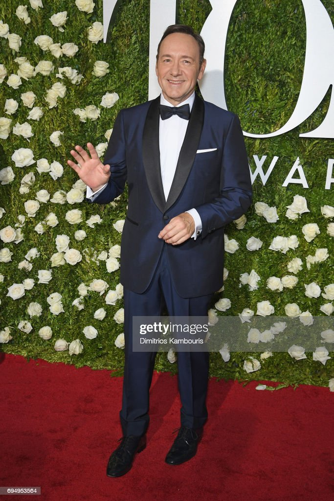 Kevin Spacey attends the 2017 Tony Awards at Radio City Music Hall on June 11, 2017 in New York City.