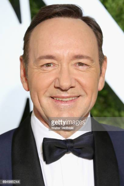 Kevin Spacey attends the 71st Annual Tony Awards at Radio City Music Hall on June 11 2017 in New York City