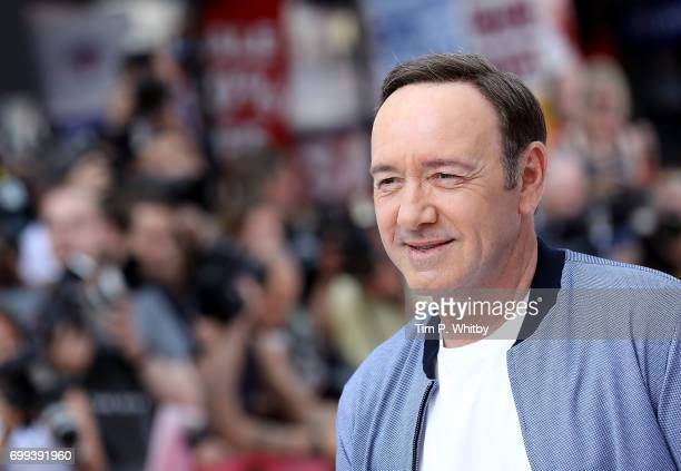 Kevin Spacey attends the European Premiere of Sony Pictures 'Baby Driver' on June 21 2017 in London England
