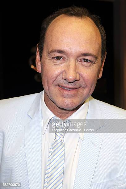 Kevin Spacey attends the Premiere of As you Like it directed by Sam Mendes at Marigny Theater in Paris