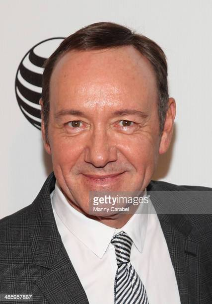 """Kevin Spacey attends Tribeca Talks: After the Movie: """"NOW: In the Wings on a World Stage"""" during the 2014 Tribeca Film Festival at BMCC Tribeca PAC..."""