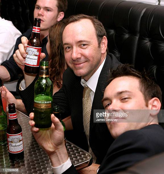 Kevin Spacey during AnheuserBusch Inc Hosts the Closing Party for the Tribeca Film Festival at Atrium in the Embassy Suites Hotel in New York City...