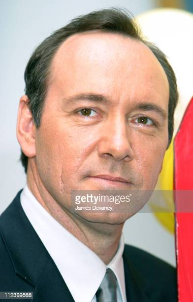 Kevin Spacey during Mayor Michael R Bloomberg Robert De Niro Jane Rosenthal and Kevin Spacey Announce Second Annual Tribeca Film Festival at City...