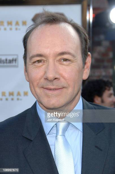 Kevin Spacey during 'Superman Returns' Los Angeles Premiere Arrivals at Mann Village and Bruin Theaters in Westwood California United States