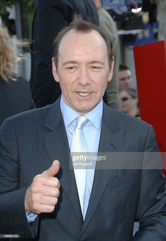 Kevin Spacey during 'Superman Returns' Los Angeles Premiere - Arrivals at Mann Village and Bruin Theaters in Westwood, California, United States.