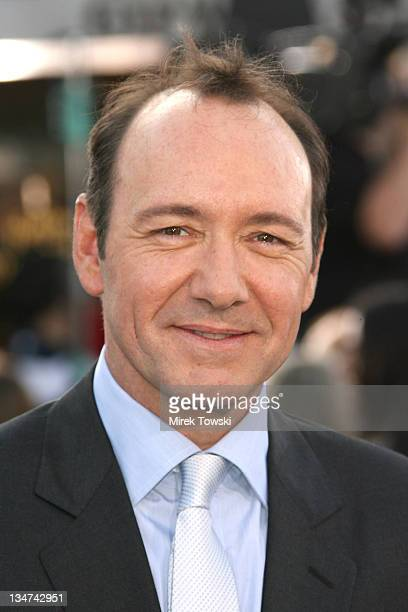 Kevin Spacey during 'Superman Returns' Los Angeles Premiere at Mann Village and Bruin Theaters in Westwood California United States