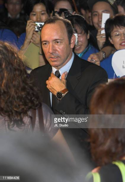 Kevin Spacey during 'Superman Returns' Tokyo Premiere Red Carpet at Roppongi Hills Arena in Tokyo Japan