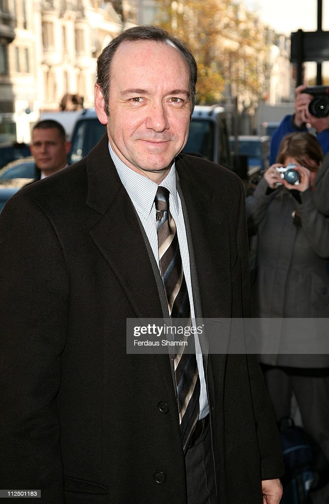 Kevin Spacey during The Old Vic Fundraiser - VIP Lunch - Arrivals at Fifty in London, Great Britain.