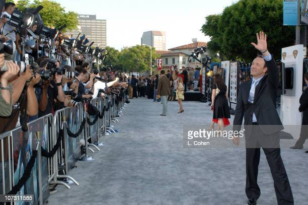 Kevin Spacey during World Premiere of 'Superman Returns' Red Carpet at Mann Village and Bruin Theaters in Los Angeles California United States