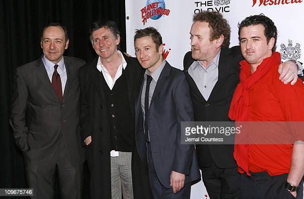 Kevin Spacey Gabriel Byrne Billy Carter Colm Meaney and Eugene O'Hare