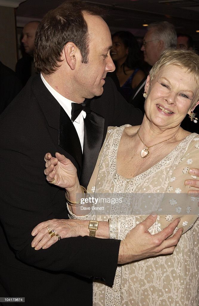 Kevin Spacey & Judi Dench, The Orange British Academy Film Awards (bafta) 2002 After Party, At The Odeon, Leicester Square, London
