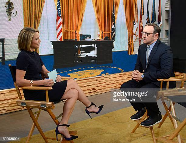 AMERICA Kevin Spacey starring in Elvis Nixon talks about the new film on GOOD MORNING AMERICA airing FRIDAY April 22 on the Walt Disney Television...