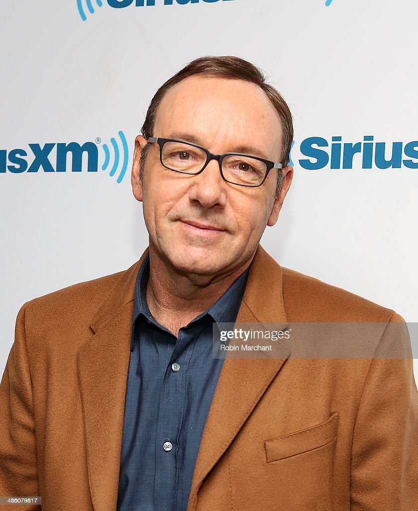 Kevin Spacey visits at SiriusXM Studios on April 22, 2014 in New York City.