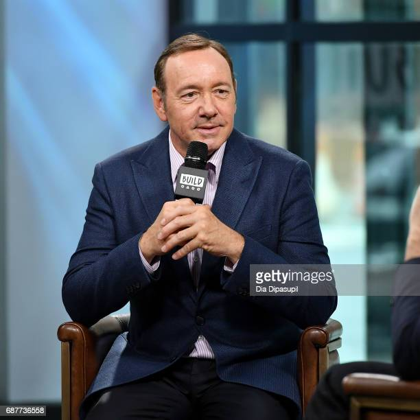 Kevin Spacey visits the Build Series to discuss his new play Clarence Darrow at Build Studio on May 24 2017 in New York City