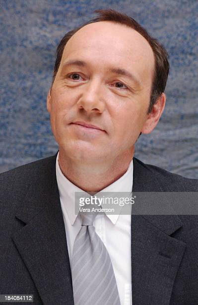 Kevin Spacey writer director and cast member during Beyond the Sea Press Conference with Kevin Spacey and Kate Bosworth at Four Seasons Hotel in...