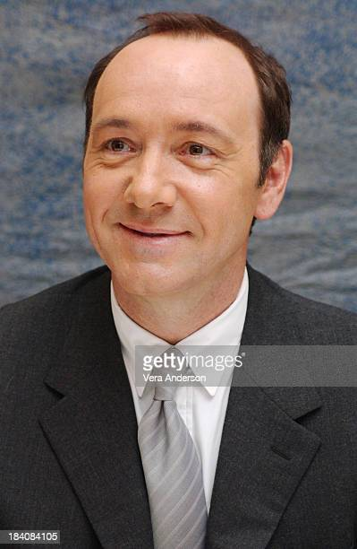 Kevin Spacey writer/director/star during Beyond the Sea Press Conference with Kevin Spacey and Kate Bosworth at Four Seasons Hotel in Beverly Hills...