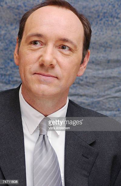 Kevin Spacey writer/director/star during 'Beyond the Sea' Press Conference with Kevin Spacey and Kate Bosworth at the Four Seasons Hotel in Beverly...