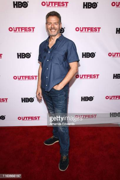 Kevin Spirtas arrives at the 2019 Outfest Los Angeles LGBTQ Film Festival World Premiere of HAM A Musical Memoir at the TCL Chinese Theatre on July...