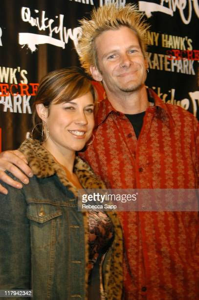 Kevin Staab and wife during Tony Hawk's Secret Skatepark Tour DVD Hollywood Premiere at The Arclight Cinemas in Hollywood California United States