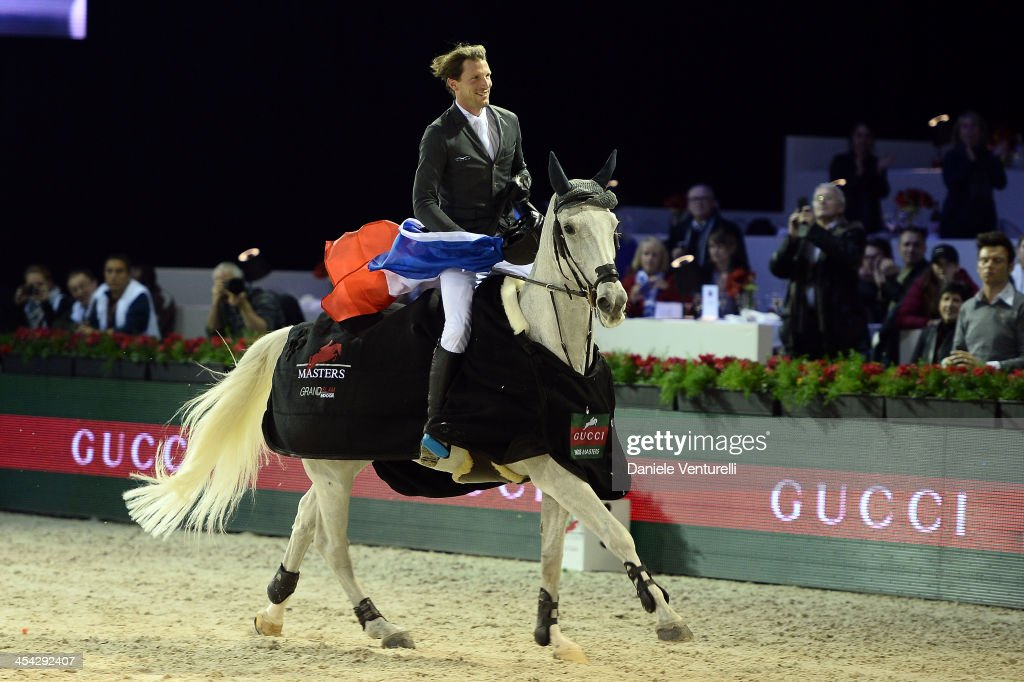 Kevin Staut attends day 4 of the Gucci Paris Masters 2013 at Paris Nord Villepinte on December 8, 2013 in Paris, France.