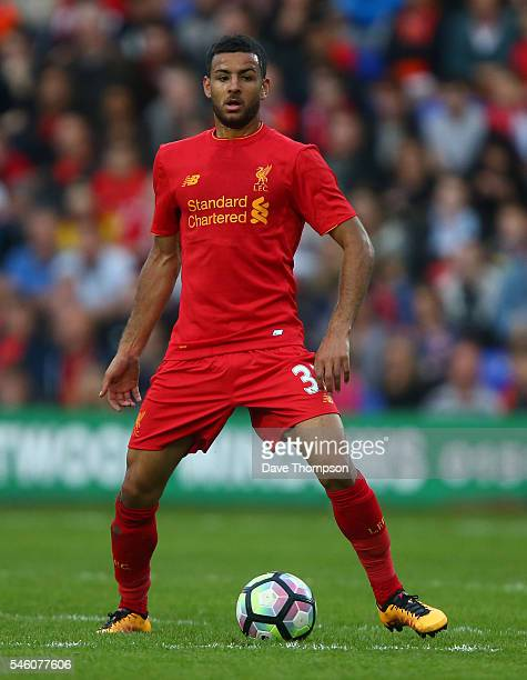 Kevin Stewart of Liverpool during the PreSeason Friendly match between Tranmere Rovers and Liverpool at Prenton Park on July 8 2016 in Birkenhead...