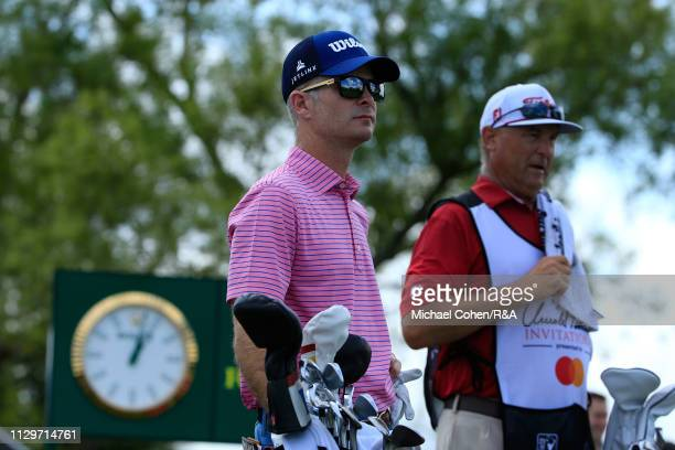 Kevin Streelman of the United States prepares to hit his tee shot on the seventh hole during The Open Qualifying Series part of the Arnold Palmer...
