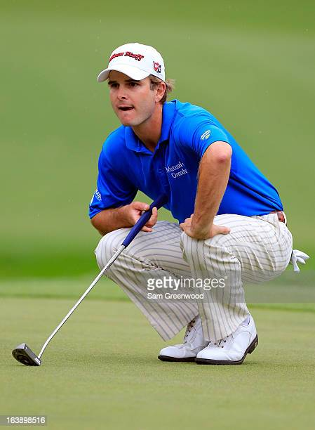 Kevin Streelman plays a shot on the 15th hole during the final round of the Tampa Bay Championship at the Innisbrook Resort and Golf Club on March 17...