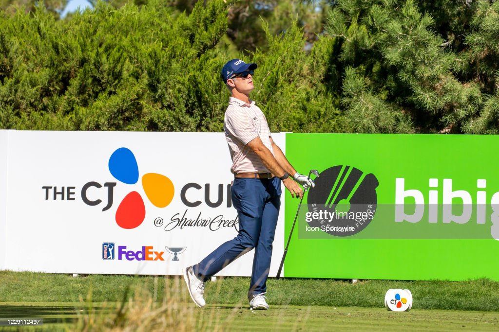 GOLF: OCT 15 PGA - The CJ Cup at Shadow Creek : News Photo
