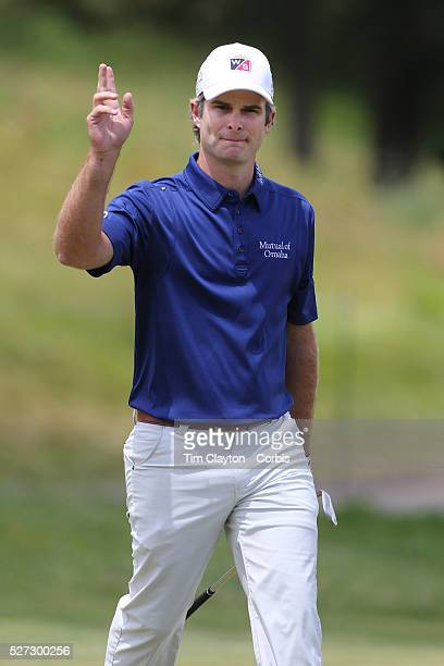 Kevin Streelman USA in action on the final day while winning the Travelers Championship at the TPC River Highlands Cromwell Connecticut USA 22nd June...