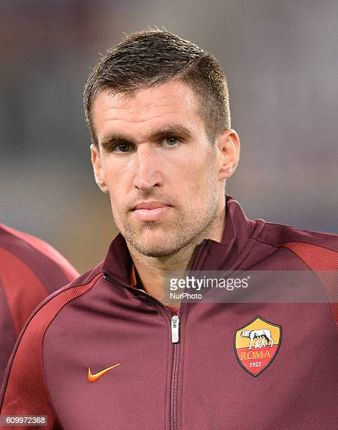 Kevin Strootman during the Italian Serie A football match between AS Roma and FC Crotone at the Olympic Stadium in Rome on september 21 2016