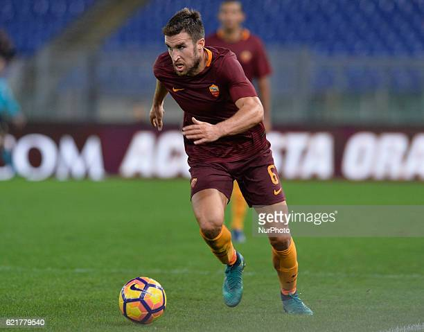 Kevin Strootman during the Italian Serie A football match between AS Roma and FC Bologna at the Olympic Stadium in Rome on november 06 2016
