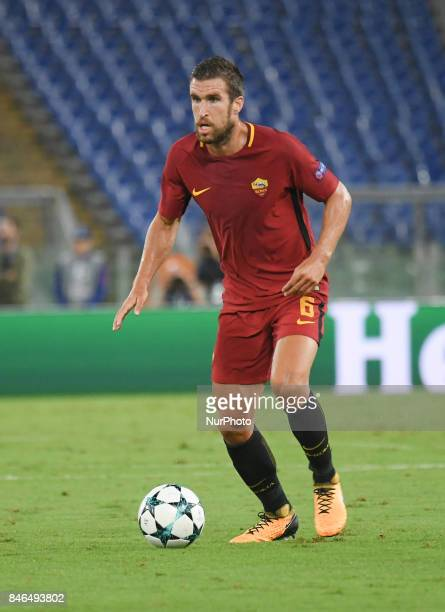 Kevin Strootman during the UEFA Champions League group C football match AS Roma vs Atletico Madrid FC at the Olympic Stadium in Rome on september 12...
