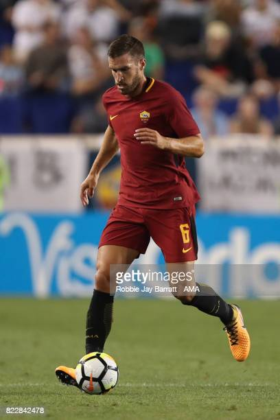 Kevin Strootman of AS Roma during the International Champions Cup 2017 match between Tottenham Hotspur and AS Roma at Red Bull Arena on July 25 2017...
