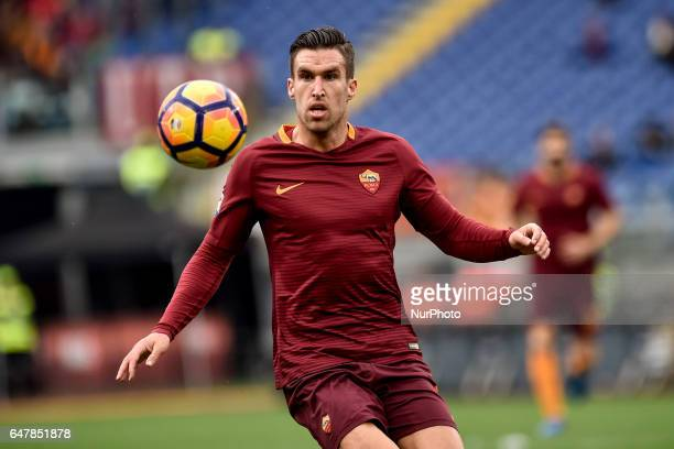 Kevin Strootman of AS Roma during the Serie A match between Roma and Napoli at Stadio Olimpico Rome Italy on 4 March 2017