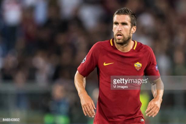 Kevin Strootman of AS Roma during the UEFA Champions League group C match match between AS Roma and Atletico Madrid on September 12 2017 at the...