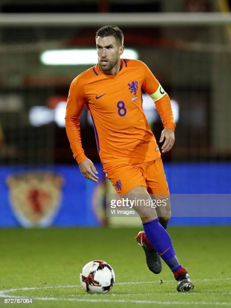 Kevin Strootman of Holland during the friendly match between Scotland and The Netherlands on November 09 2017 at Pittodrie Stadium in Aberdeen...