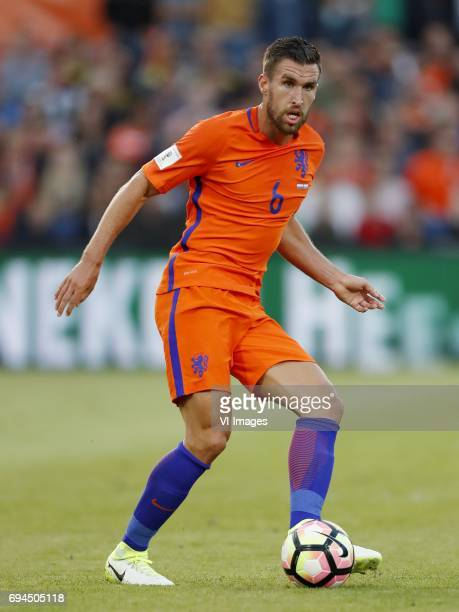 Kevin Strootman of Hollandduring the FIFA World Cup 2018 qualifying match between The Netherlands and Luxembourg at the Kuip on June 9 2017 in...