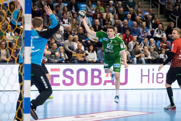DEU: Fuechse Berlin v HSG Nordhorn Lingen - Liqui Moly Handball Bundesliga