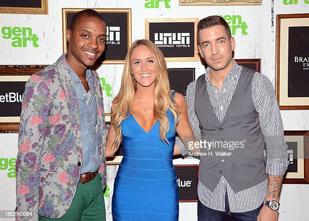 Kevin Stucky Senior Director GenArt Katie May and Charles Thorp attend the 17th Annual GenArt Film Festival Premiere of The Silent Thief at School of...
