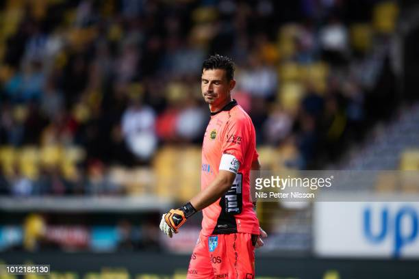 Kevin StuhrEllegaard of IF Elfsborg dejected during the Allsvenskan match between IF Elfsborg and Ostersunds FK at Boras Arena on August 6 2018 in...