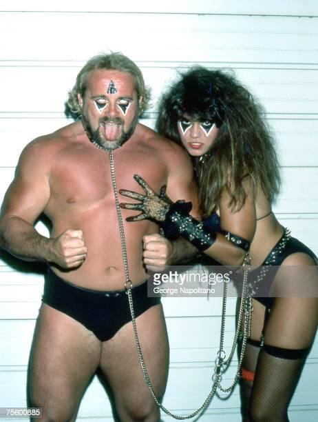 Kevin Sullivan and The Fallen Angel Nancy Benoit circa 1985
