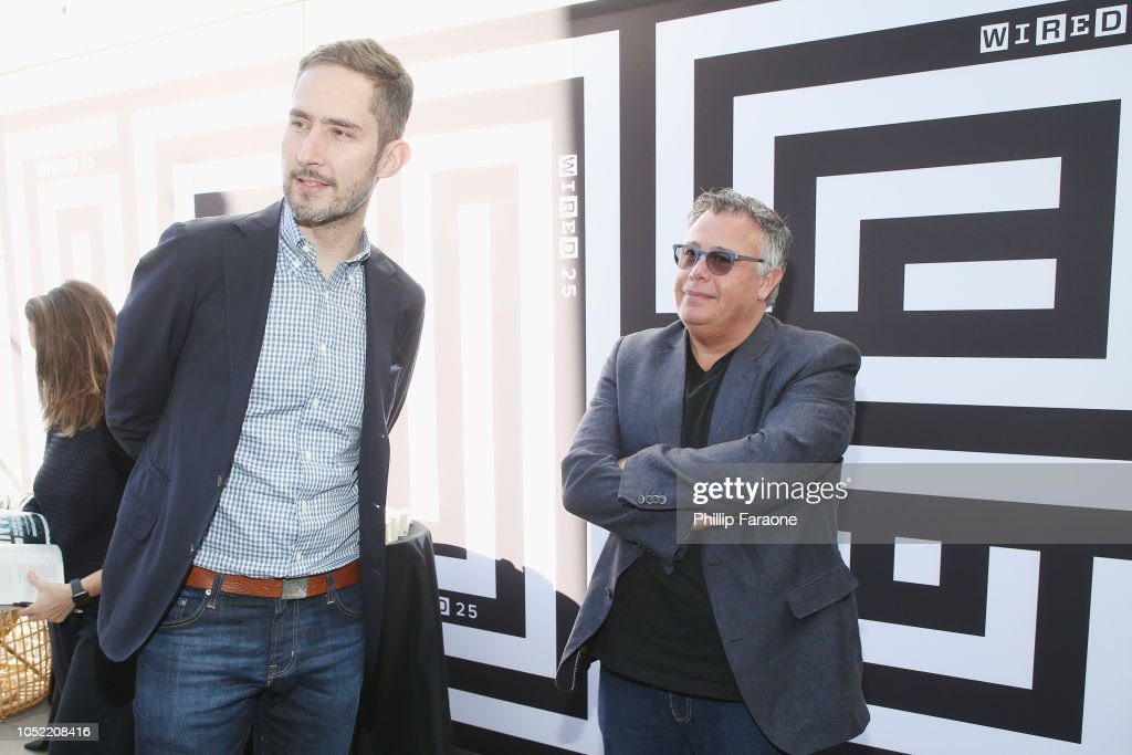 Kevin Systrom and Dion Weisler attend WIRED25 Summit: WIRED