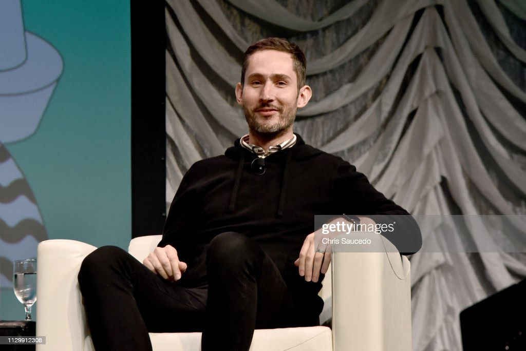 Kevin Systrom speaks onstage at Interactive Keynote