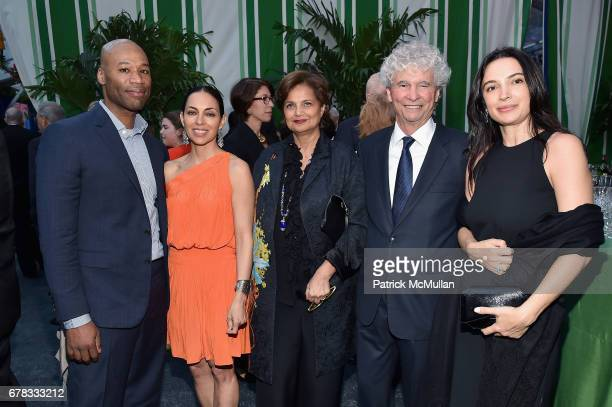 Kevin Taylor Teresita Fernndez Mahnaz Ispahani Bartos Tony Bechara and Clarice Tavares attend the Studio in a School 40th Anniversary Gala at Seagram...