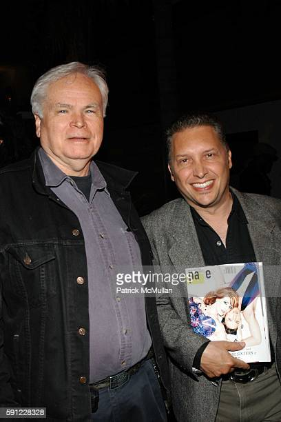 Kevin Thomas and Gino Colbert attend Paper Magazine and Jaguar 2005 to celebrate the 8th Annual Beautiful People Issue at Roosevelt Hotel on April 15...