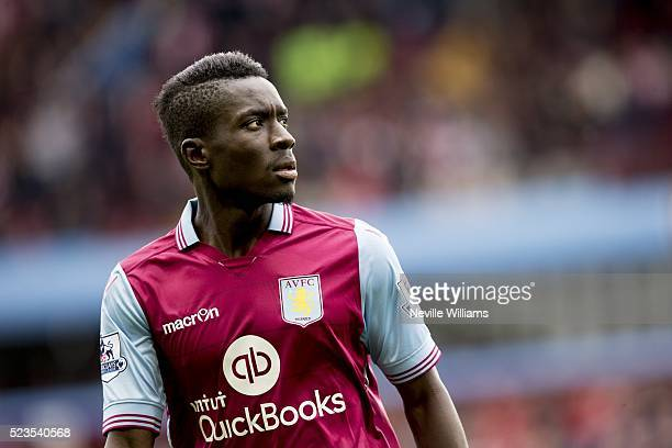 Kevin Toner of Aston Villa during the Barclays Premier League match between Aston Villa v Southampton at Villa Park on April 23 2016 in Birmingham...