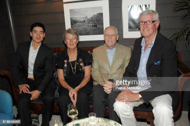 Kevin Truex Janet Reed Frank Burnes and Peter Emmerson attend c/o the Maidstone hosts Equus cast party with Alec Baldwin Peter Shaffer Sam Underwood...