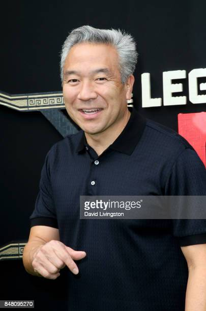 Kevin Tsujihara at the premiere of Warner Bros Pictures' The LEGO Ninjago Movie at Regency Village Theatre on September 16 2017 in Westwood California