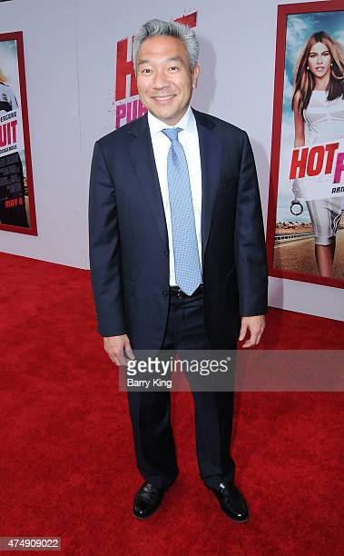 Kevin Tsujihara attends the premiere of 'Hot Pursuit' at TCL Chinese Theatre on April 30 2015 in Hollywood California